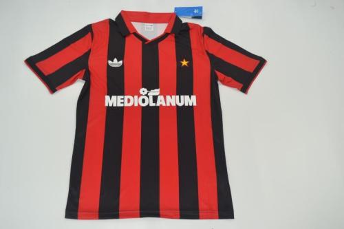AC Milan 91/92 Home Soccer Jersey