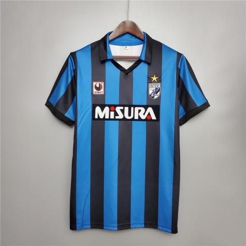 Inter milan 88/90 Home Soccer Jersey
