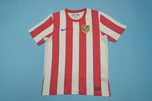 Atletico Madrid 11/12 Home Soccer Jersey
