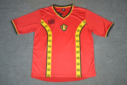 Belgium 1982 Home Soccer Jersey