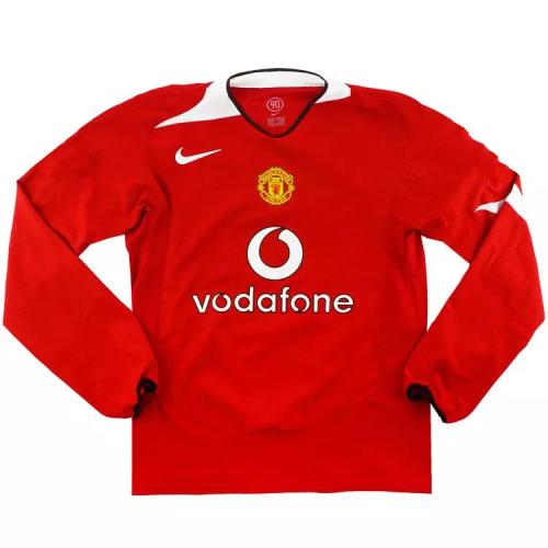 Manchester Utd 04/05 Home Long Jersey