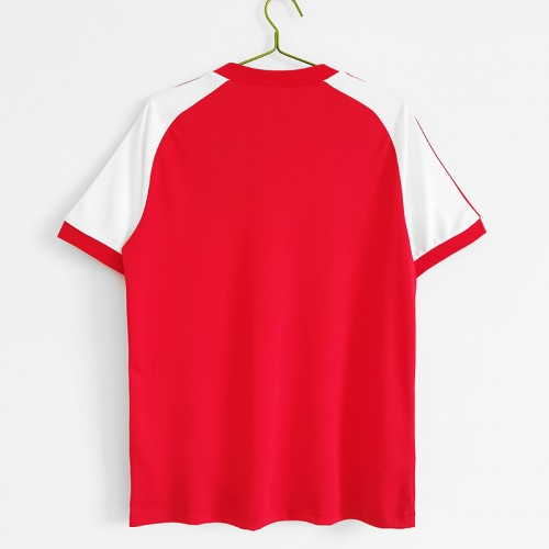 Retro 1982 Wales home Jersey version short sleeve