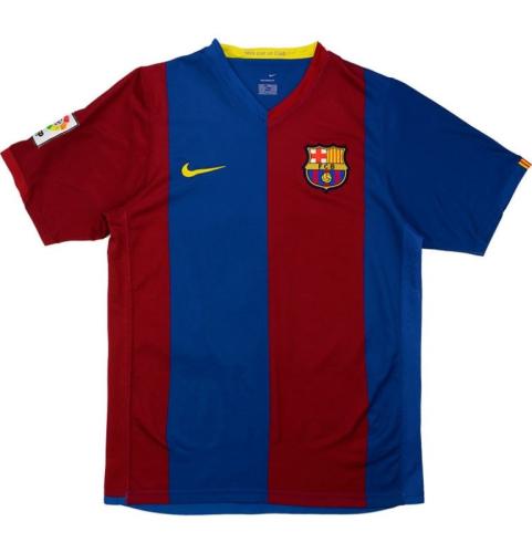 Barcelona 06/07 Home Soccer Jersey