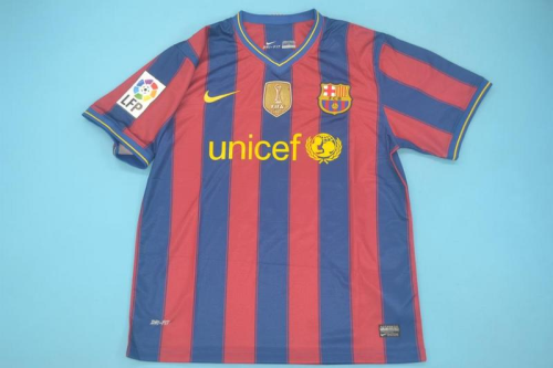 Barcelona 09/10 Home Soccer Jersey