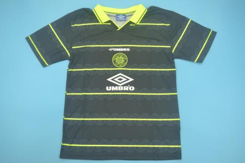 1998 Celtic away Soccer Jersey