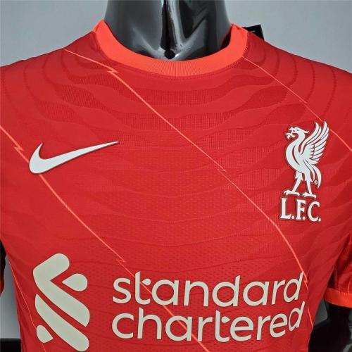 Mens Liverpool Player Home Jersey 2021/22 - Match