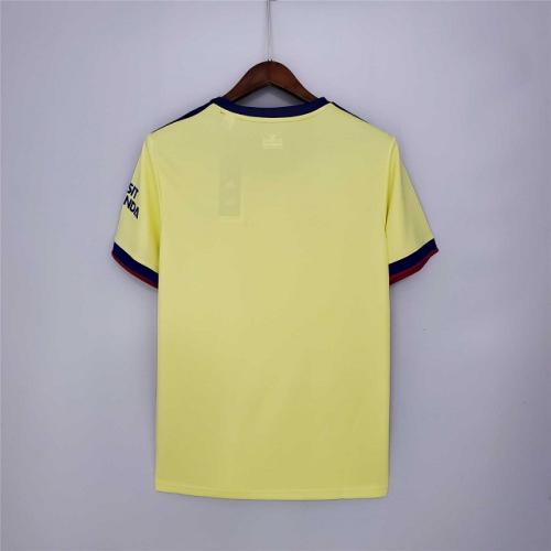 Arsenal away soccer jersey match men's second sportswear football shirt 2021-2022