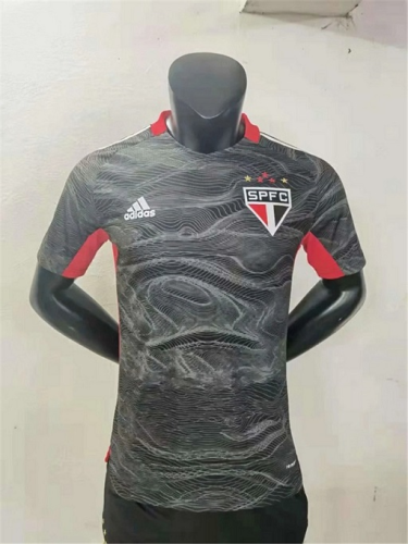 Sao Paulo 21/22 GK Black Soccer Jersey(Player)