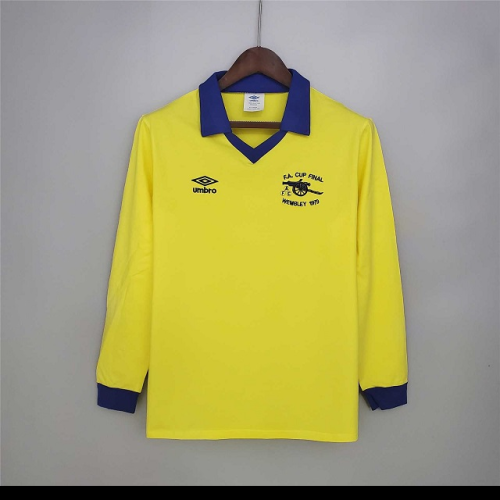 Arsenal 1979 FA Cup Final Long Yellow Jersey