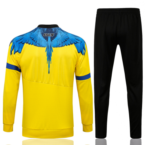 Napoli 21/22 Joint Tracksuit - Yellow