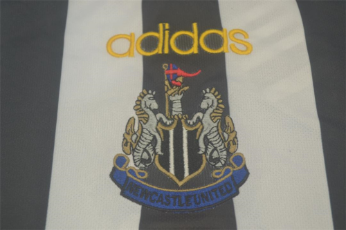 Newcastle 97/99 Home Long Soccer Jersey