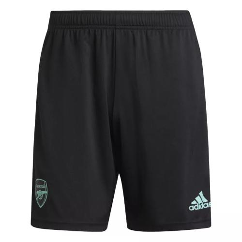 Mens Arsenal Training Black Shorts 2021/22