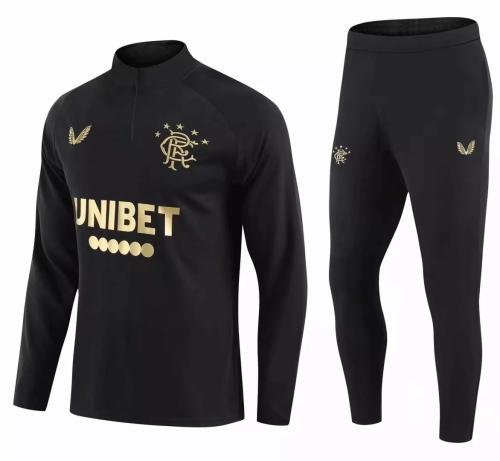 Mens Rangers Training Suit Black 2021/22