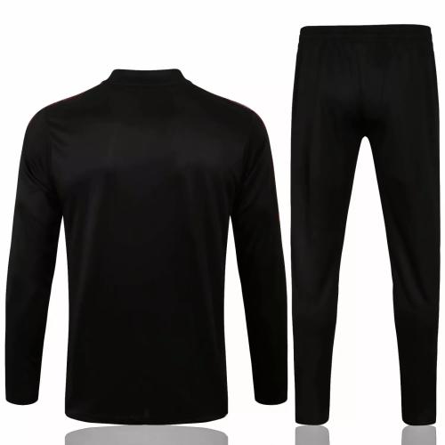 Mens Sao Paulo FC Training Suit Black 2021/22