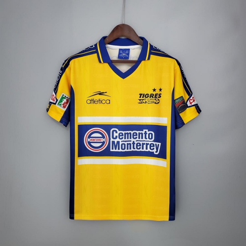 Tigres UANL 1999 Home Soccer Jersey