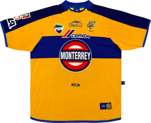 Tigres UANL01/02 Home Soccer Jersey