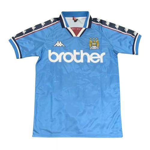 Mens Manchester City Retro Home Jersey 1998/99