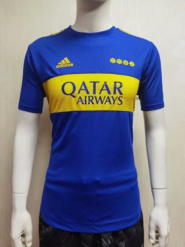 Boca Juniors 21/22 Home Soccer Jersey(Player)