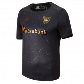 Athletic Bilbao 21/22 Away Black Soccer Jersey