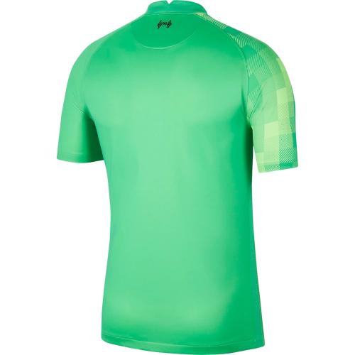 Liverpool 21/22 GK Green Soccer Jersey