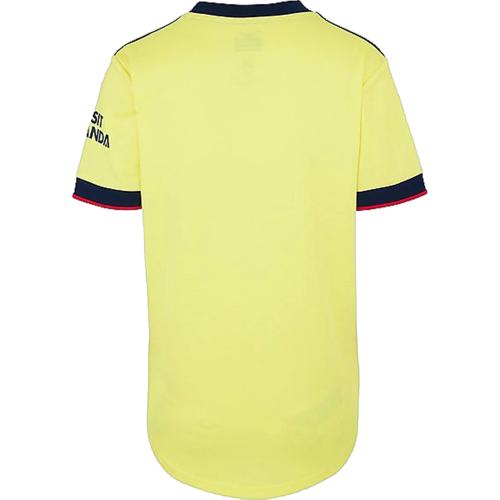 Arsenal Woman 21/22 Away Yellow Soccer Jersey