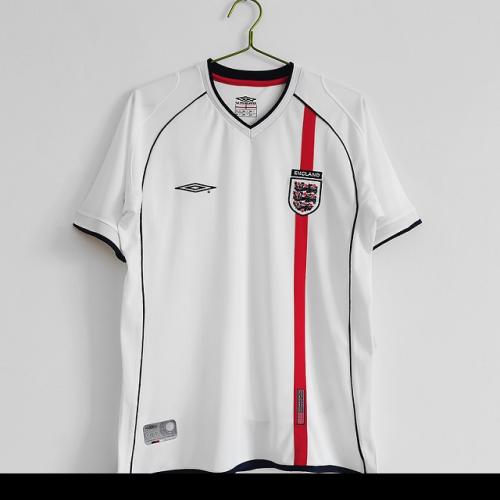England 2002 World Cup Home Soccer Jersey