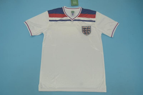 England 1982 World Cup Home Soccer Jersey
