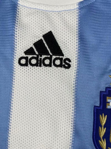 Argentina 2010 World Cup Home Soccer Jersey