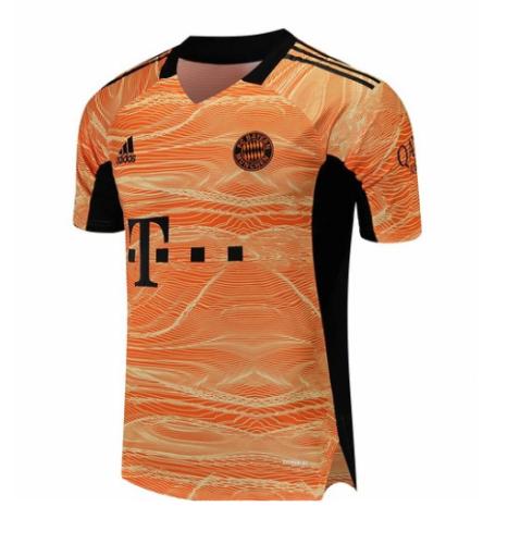 Bayern Munich 21/22 GK Orange Soccer Jersey