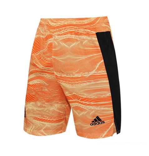 Bayern Munich 21/22 GK Orange Soccer Shorts