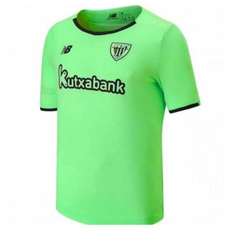 Athletic Bilbao 21/22 Away Green Soccer Jersey