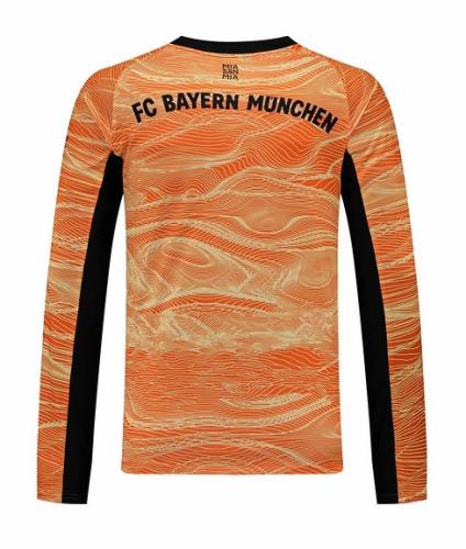 Bayern Munich 21/22 GK Orange Long Jersey