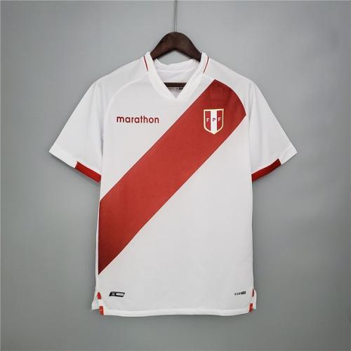 Peru 20/21 Home Soccer Jersey