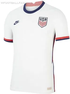 USA 20/21 Home Soccer Jersey(Player)