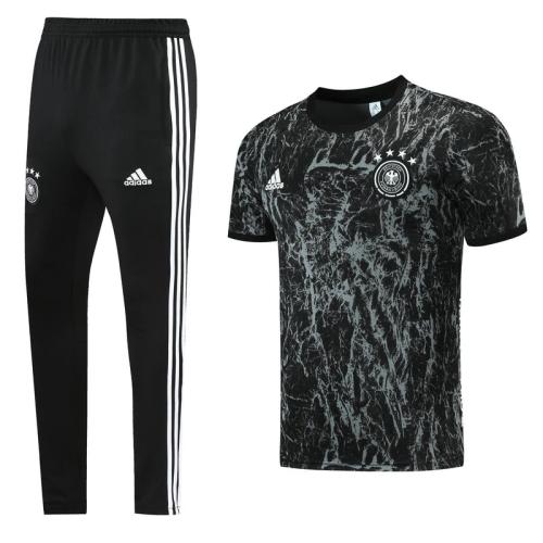 Germany 21-22 Black Polo Shirt (with long pants)