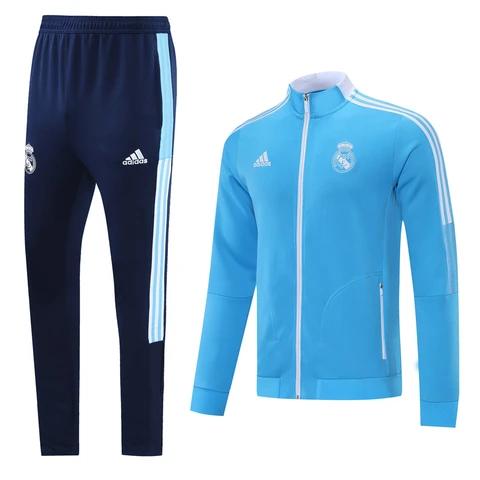 Real Madrid 21/22 Blue(knitting) Men Jacket Tracksuit