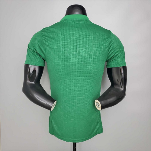 Algeria 20/21 Away Green Soccer Jersey(Player)