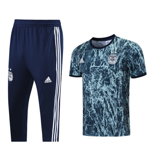 Argentina 21-22 Blue Polo Shirt(with calf-length trousers)