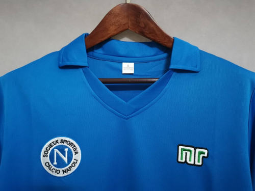 Napoli 89/90 Home Soccer Jersey