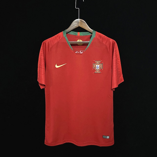 Portugal 2018 World Cup Home Soccer Jersey