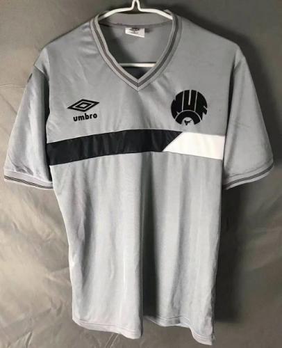 Rangers 85/87 Away Grey Soccer Jersey