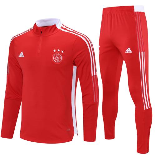 Ajax 21/22 Tracksuit - Red