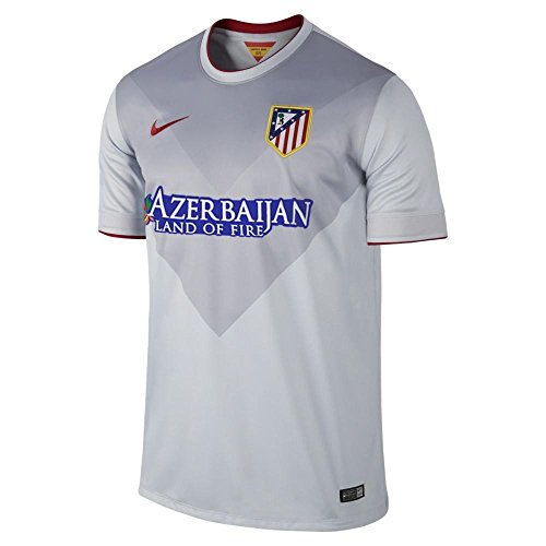 Atletico Madrid 14/15 Away Light Blue Jersey