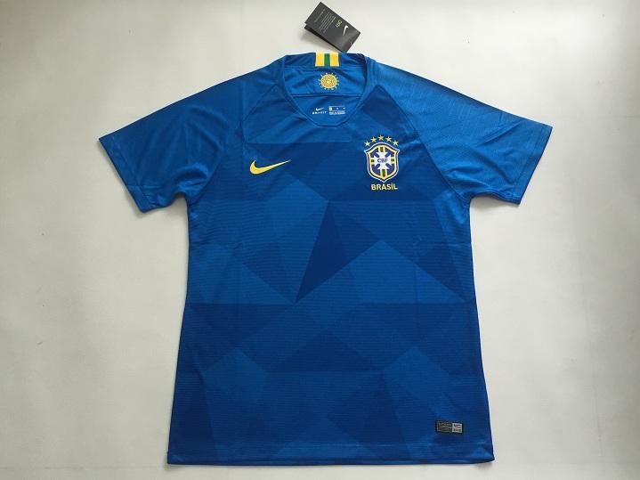 Brazil 2018 World Cup Away Soccer Jersey