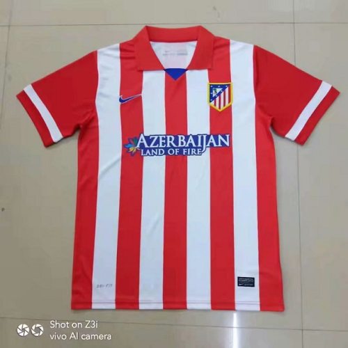 Atletico Madrid 13/14 Home Soccer Jersey