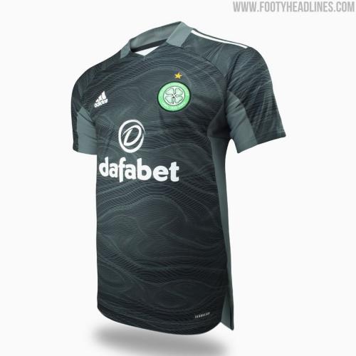 Celtic 21/22 GK Dark Grey Soccer Jersey