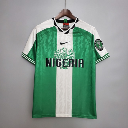Nigeria 1996 Home Soccer Jersey