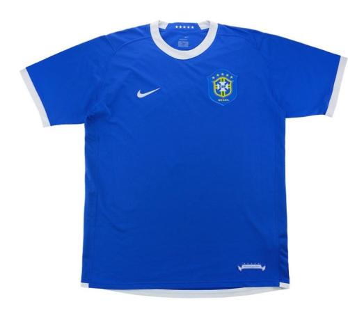 Brazil 2006 World Cup Away Soccer Jersey