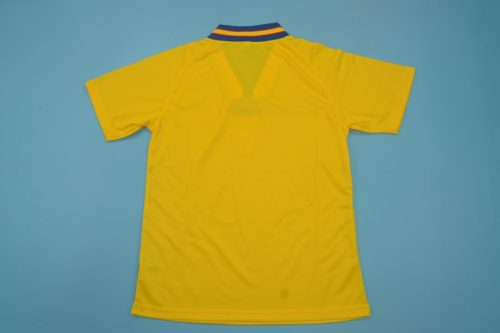 Sweden 1994 World Cup Home Soccer Jersey