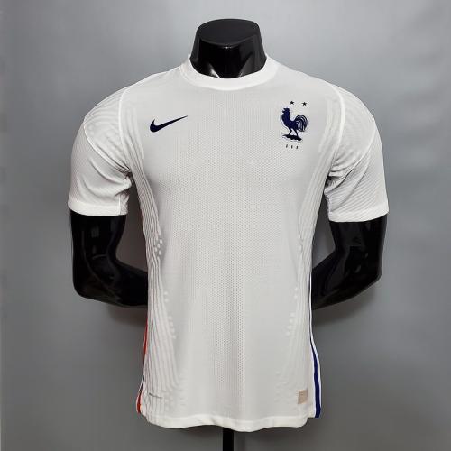 2021 France Soccer Jersey Away version short sleeve (Player Version )